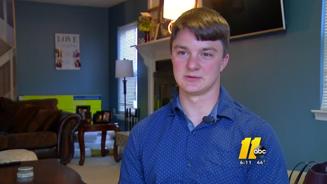 UNC student pays it forward on bone marrow donation