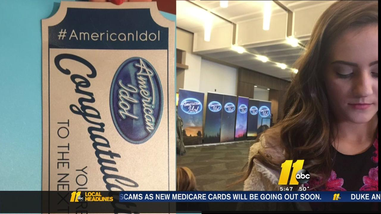 Raleigh teen shares American Idol audition experience