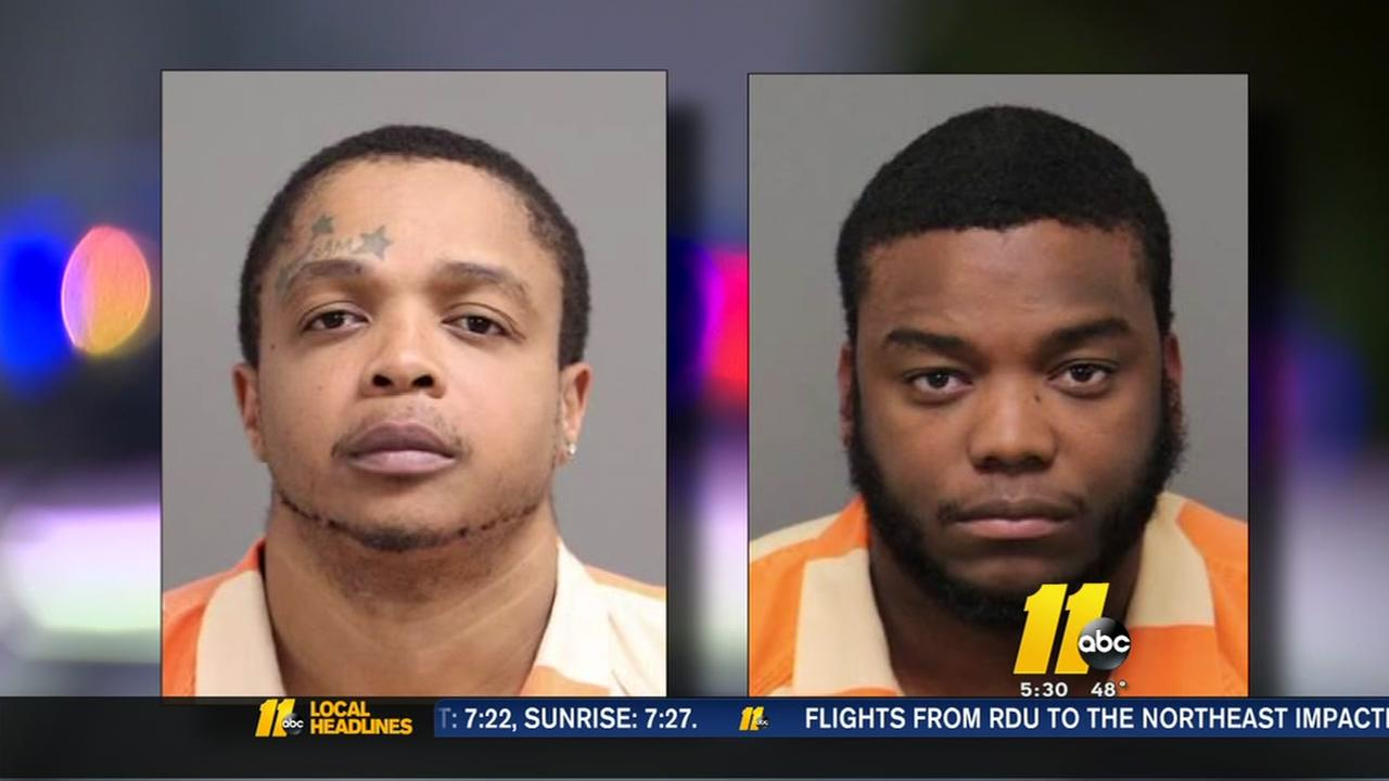 Police: Two charged in string of Raleigh robberies