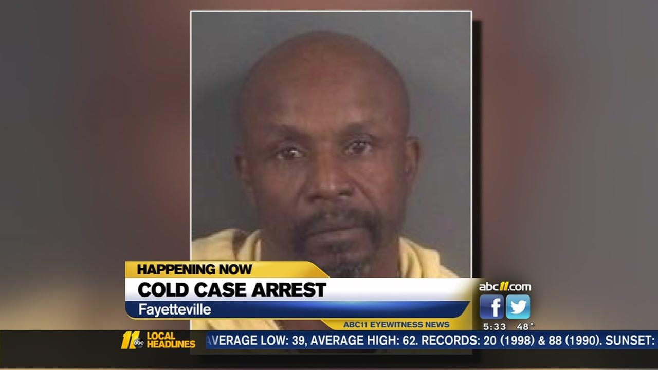Man charged in a Fayetteville cold case