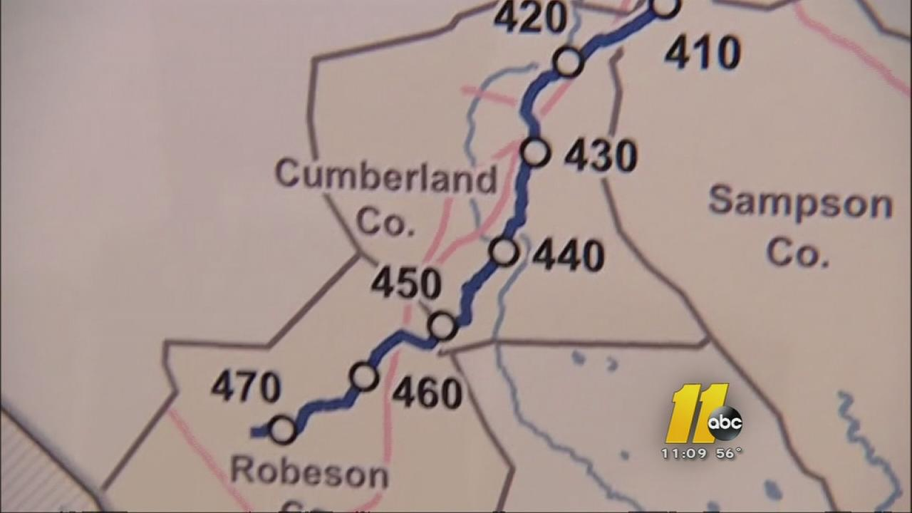 Residents see plans for a huge natural pipeline