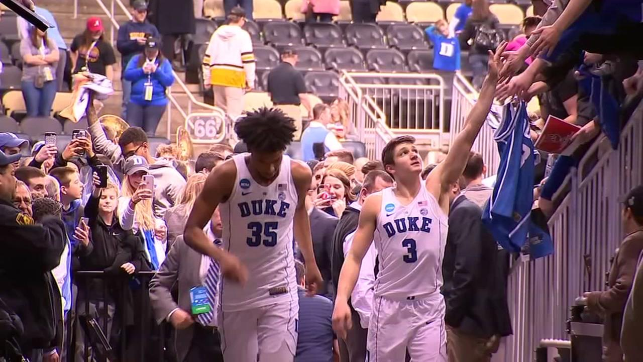 Duke off to good start in NCAA tournament