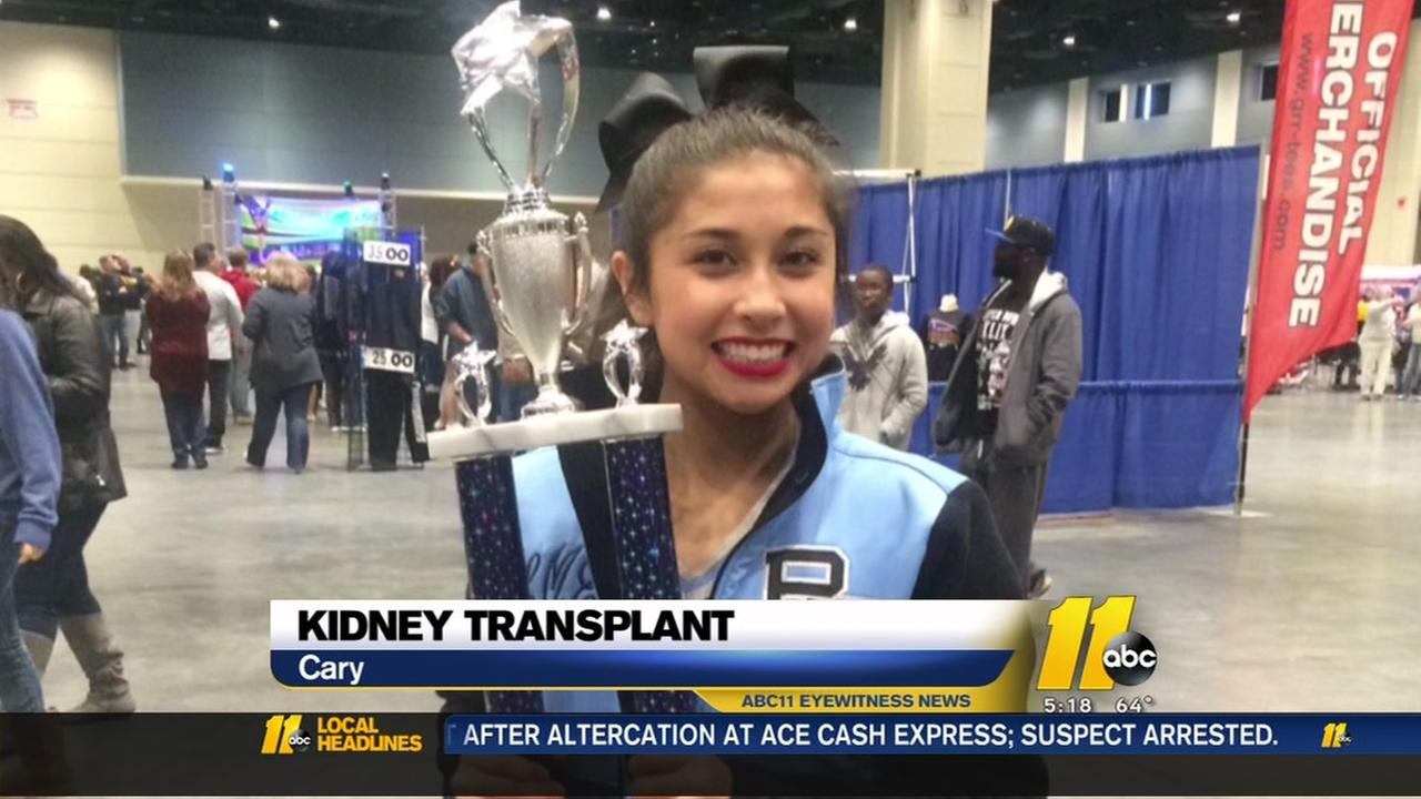 Cary teen needs your help for kidney transplant