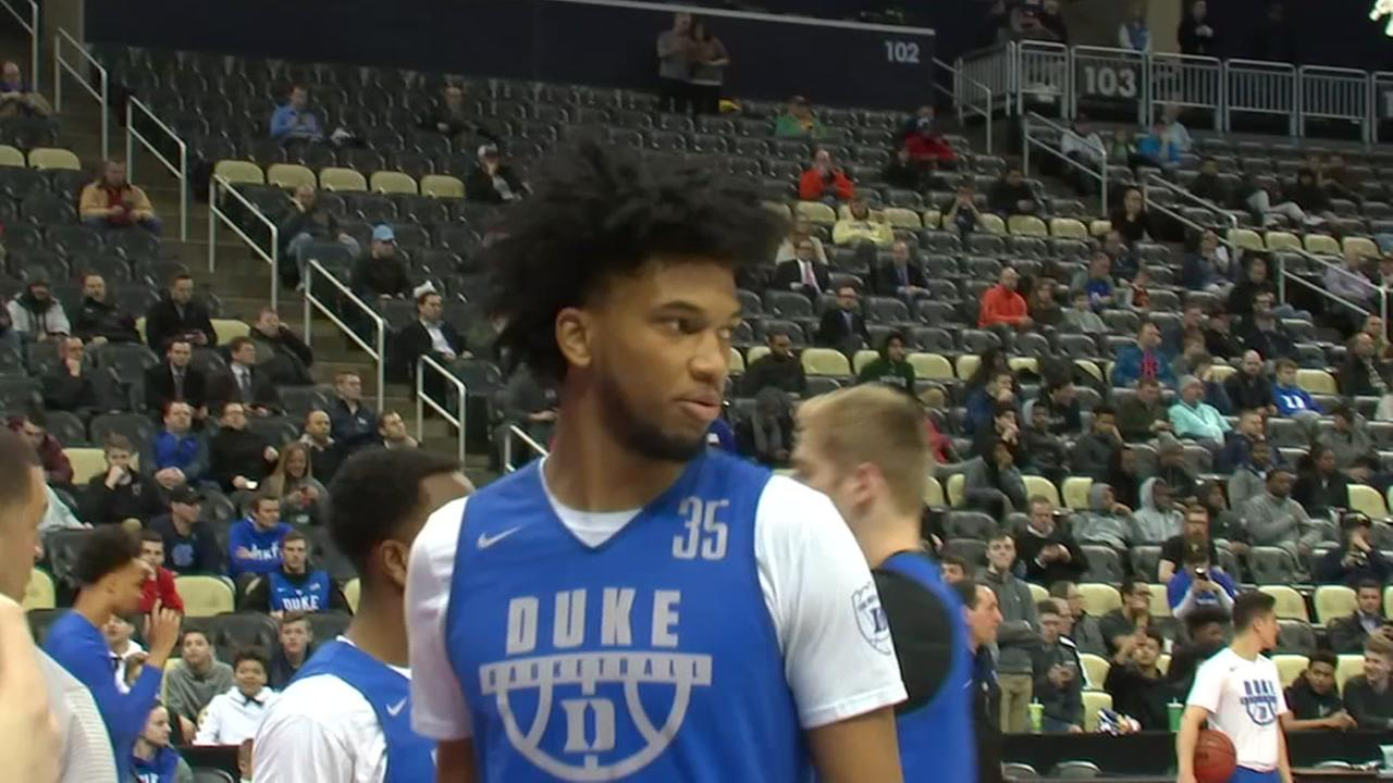 Duke prepares for a tough battle with Rhode Island