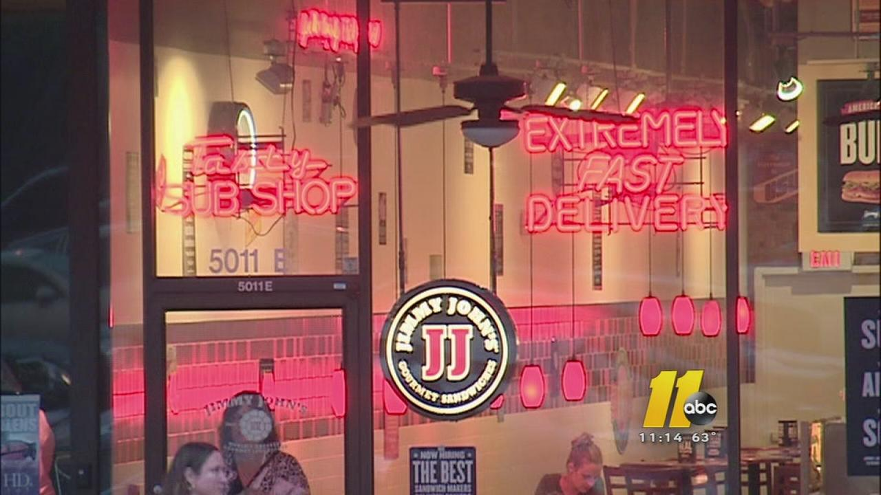 A Jimmy Johns sandwich shop in Raleigh is among more than 200 hit by a massive data breach.