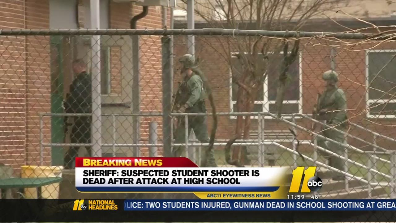 MD School shooting Noon