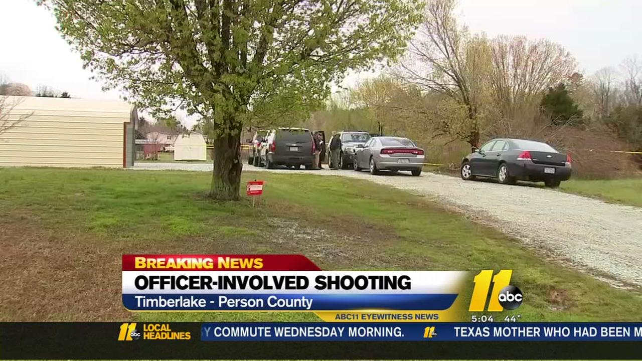 Officer-involved shooting in Person County