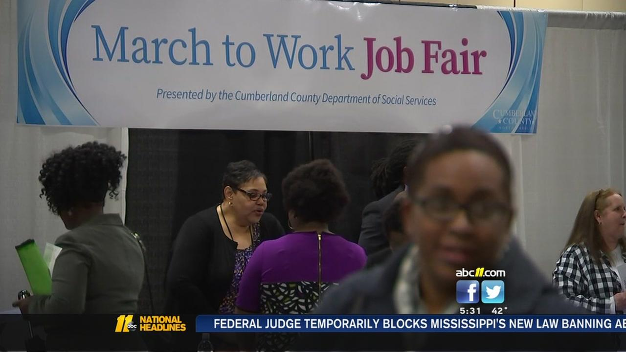 Fayetteville March to Work Job Fair draws hundreds