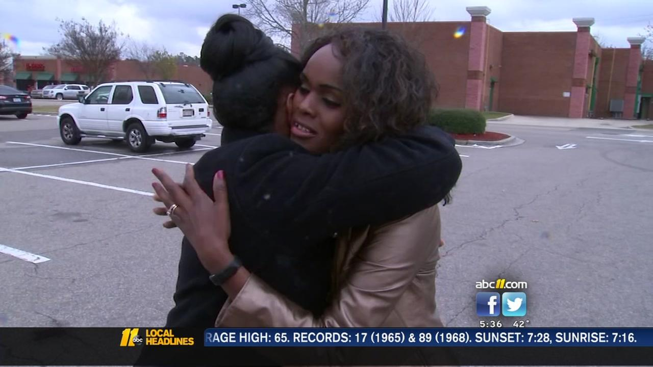 Woman reunited with missing wedding ring