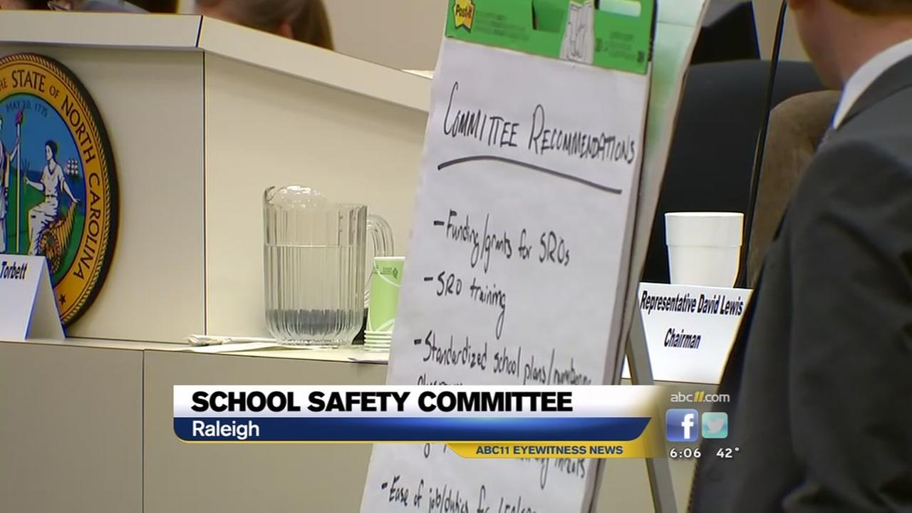 Committee meets on school safety