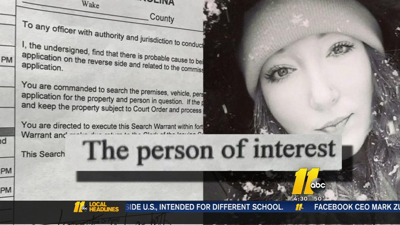 Person of interest in death of young Wake County mom