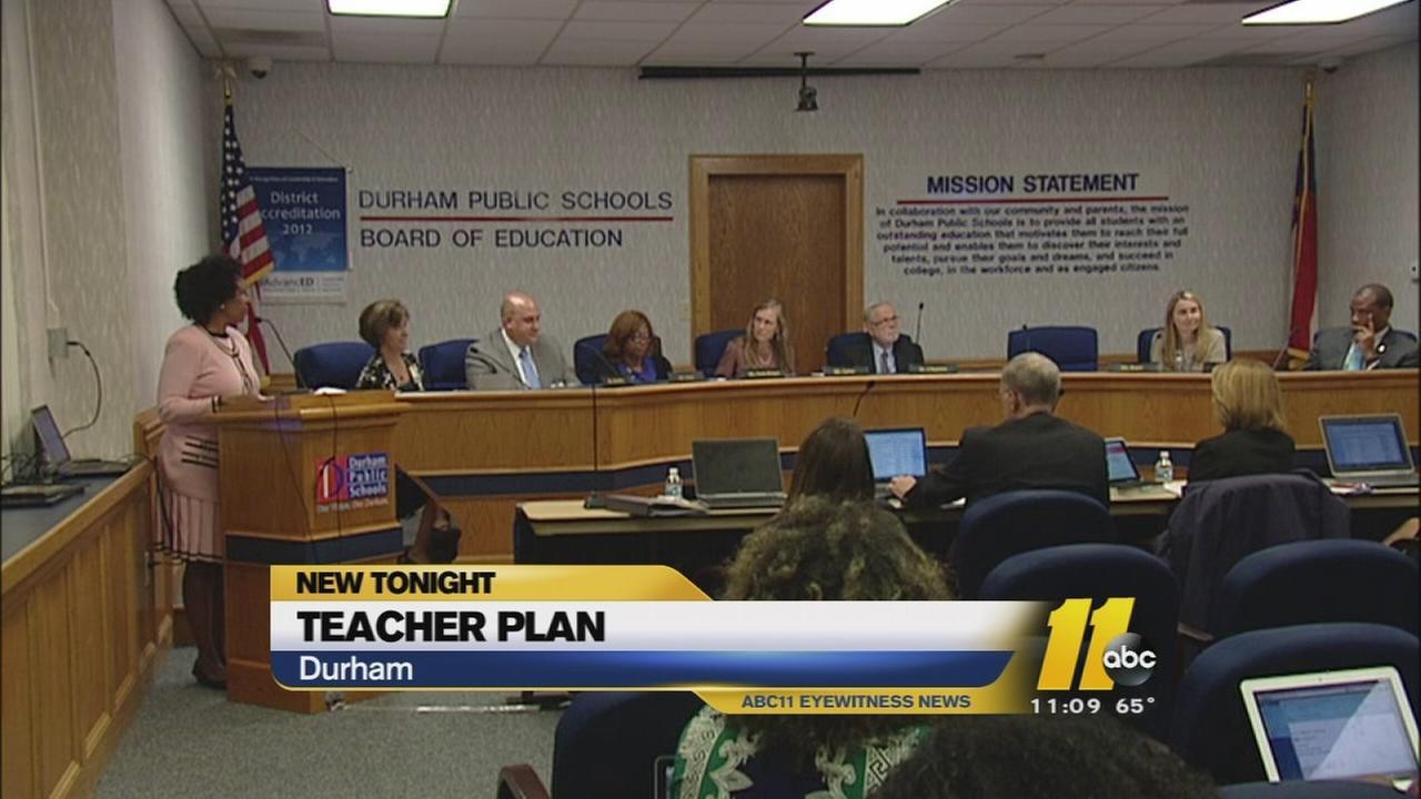 Durham Schools hopes to retain teachers with mentoring program