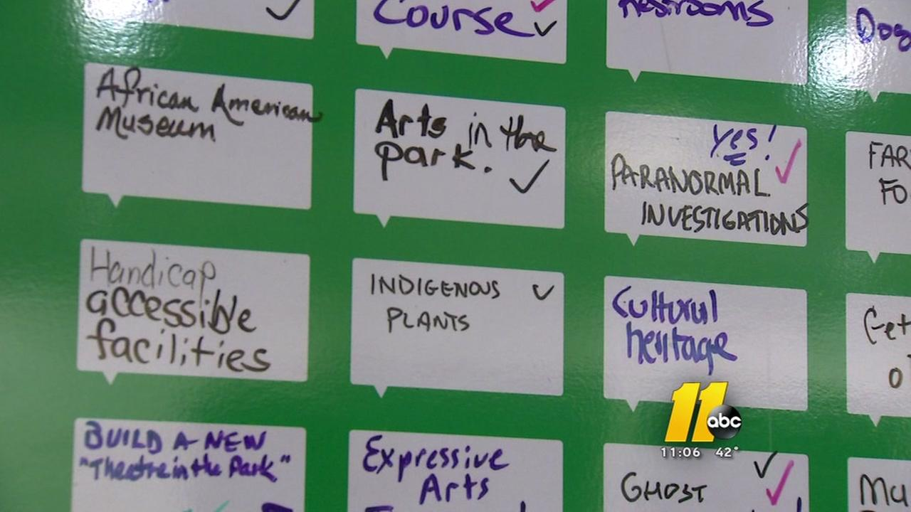 Residents pitch in with their ideas for Dix Park