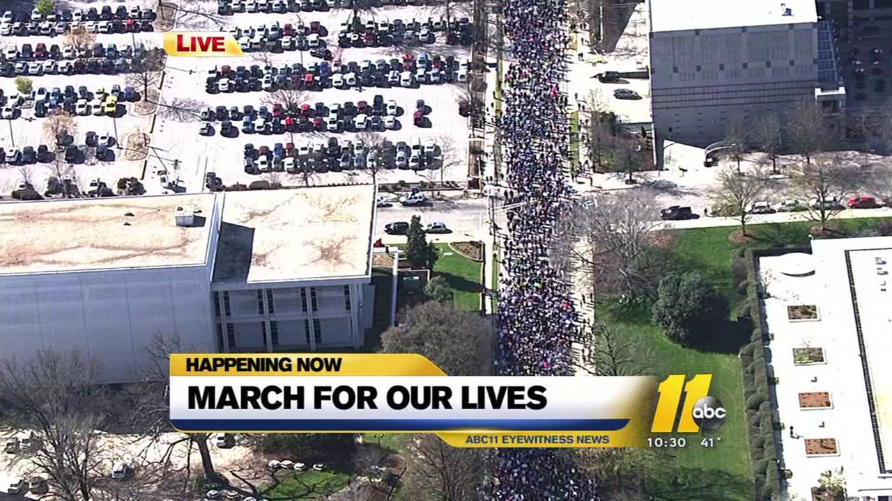 March for Our Lives Raleigh