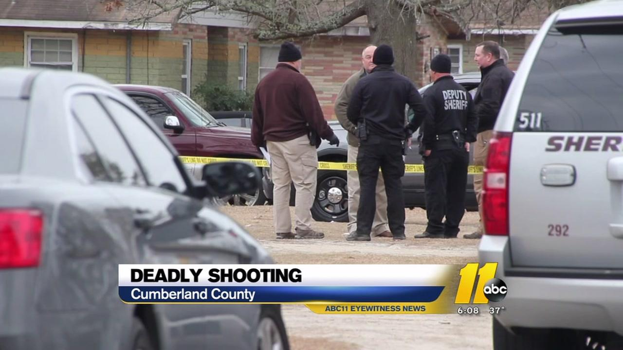 Deadly shooting in Cumberland County