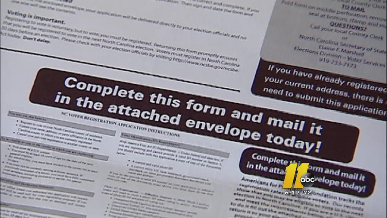 Voter info form