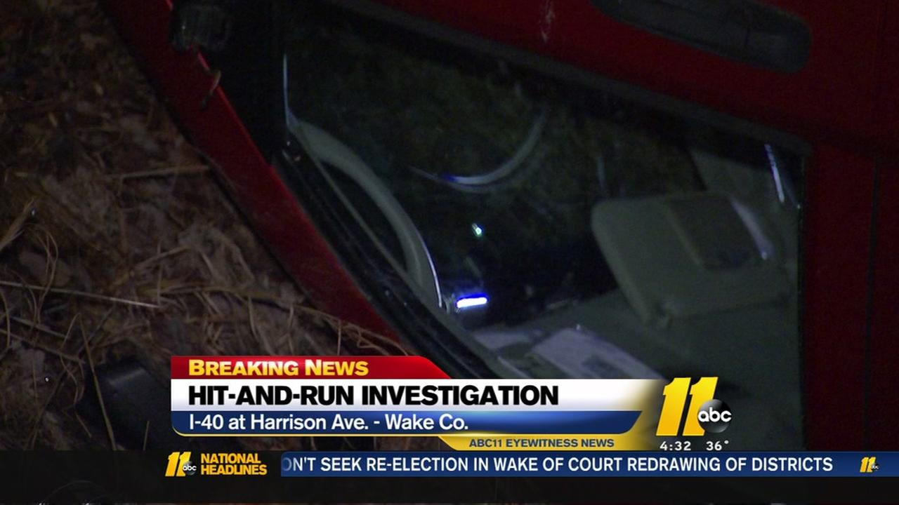SUV flips over during Wake County hit-and-run