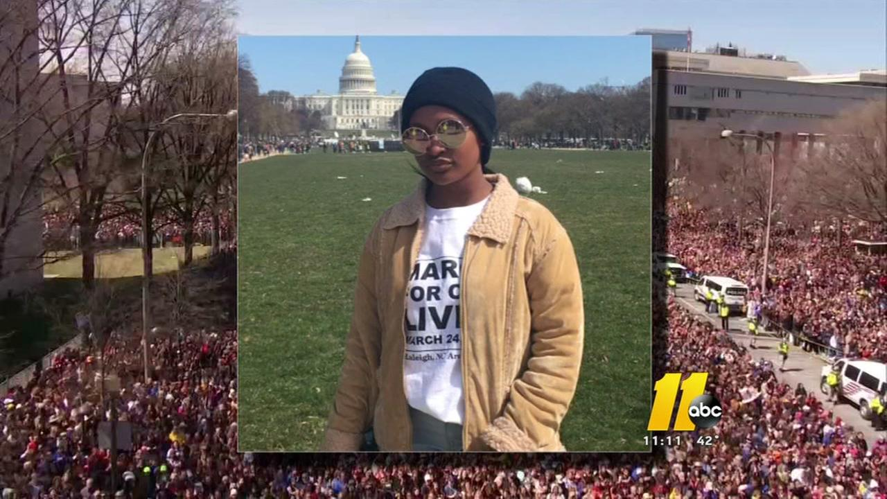 Wake teen, mother reflect on March for our Lives rally