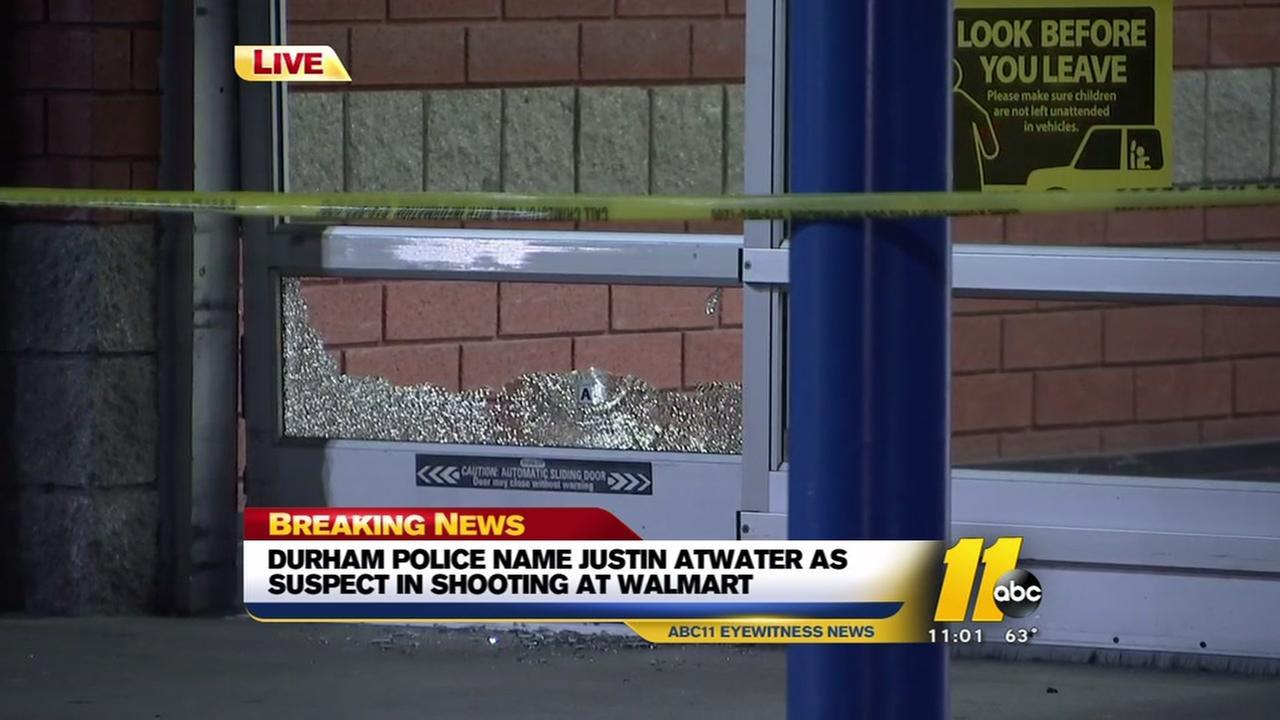 Durham Police seek suspect in Walmart shooting