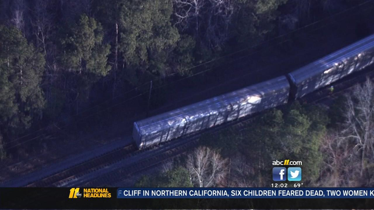 Amtrak derails in Halifax County, no injuries reported