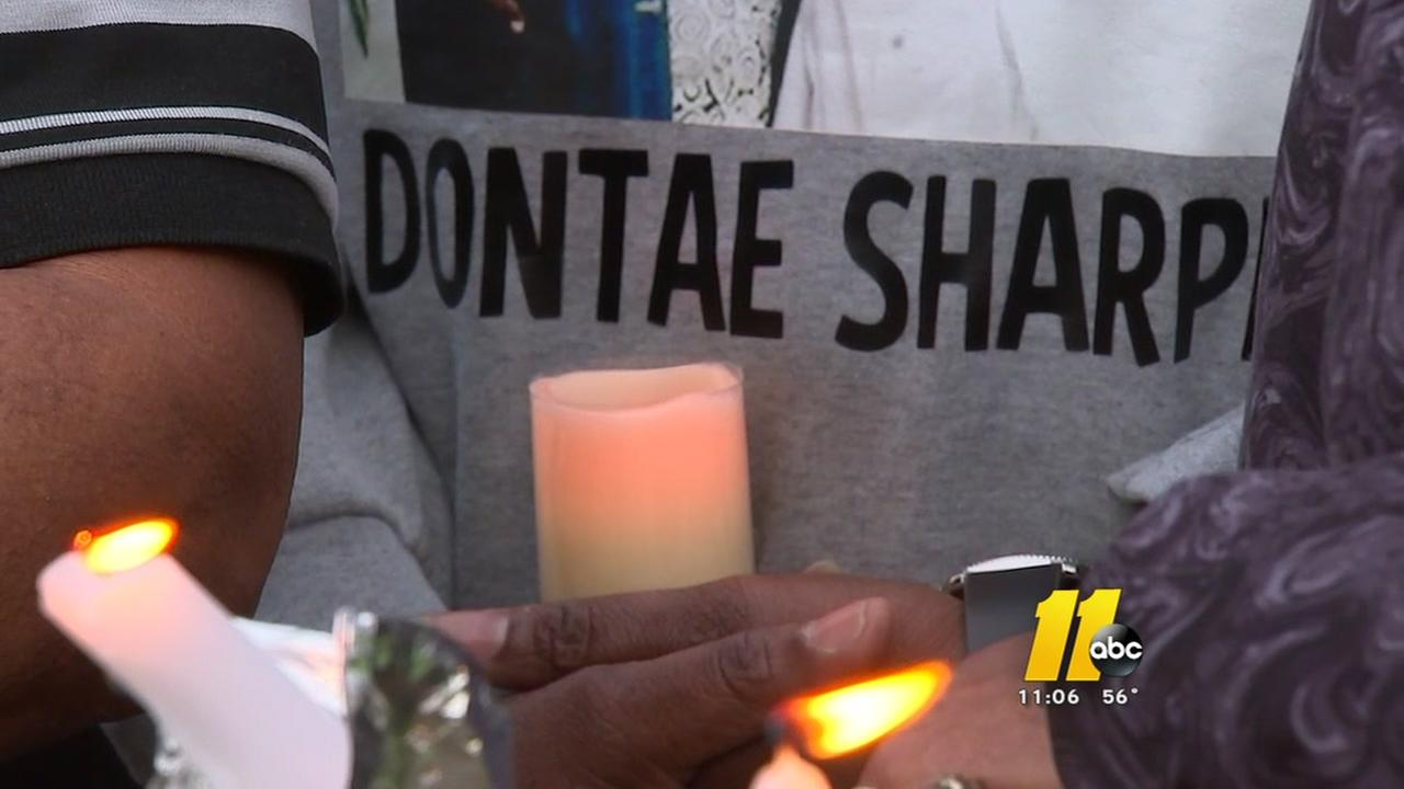 Family of inmate, supporters hold vigil outside prison