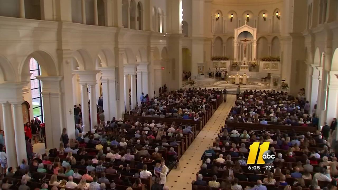 First Easter Mass at new Cathedral