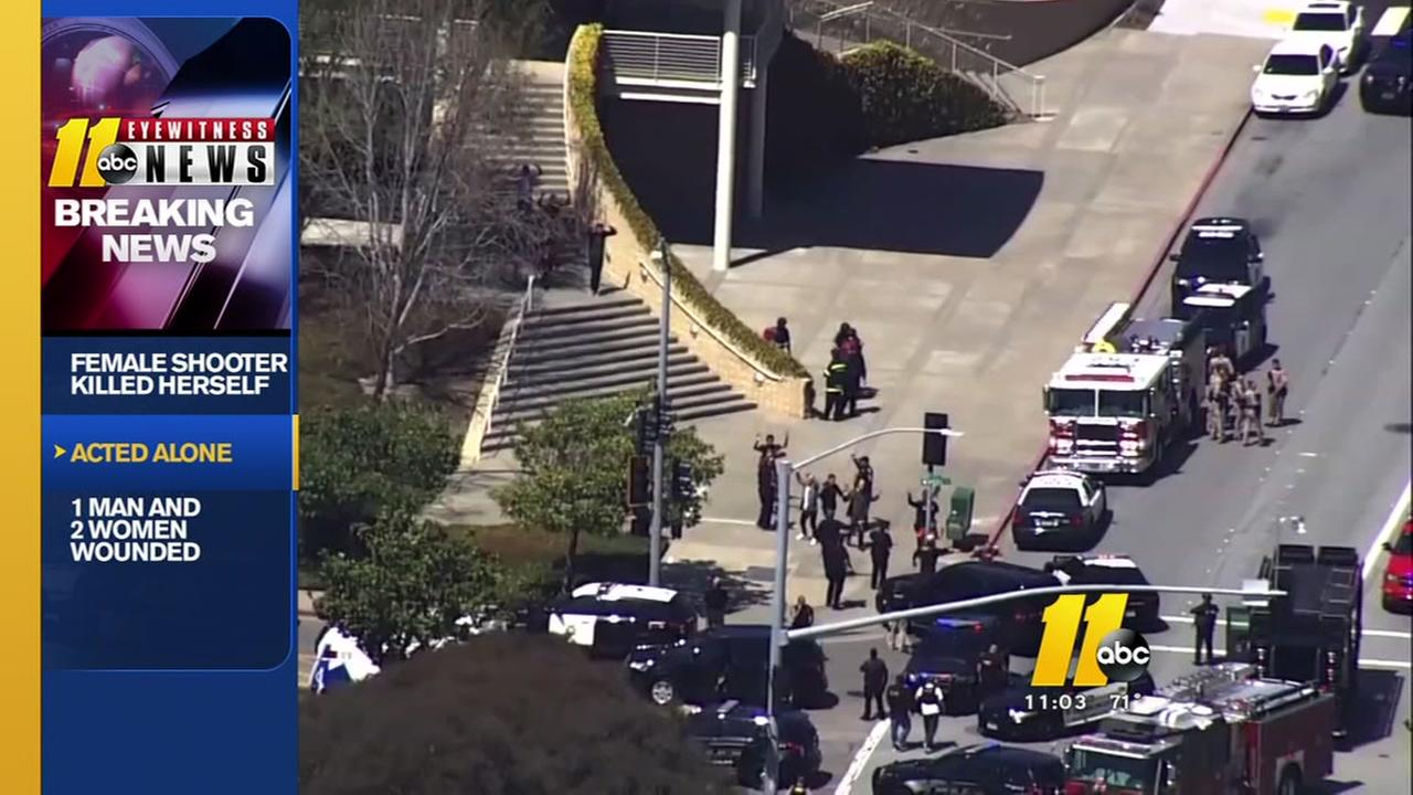 Details emerge about female shooter at YouTube HQ