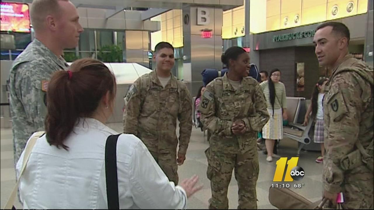 Members of 44th Medical Brigade return to NC
