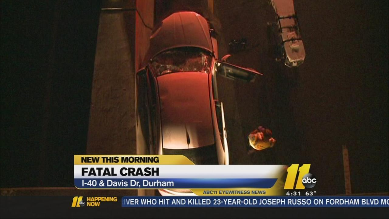 Driver killed in overnight crash on I-40