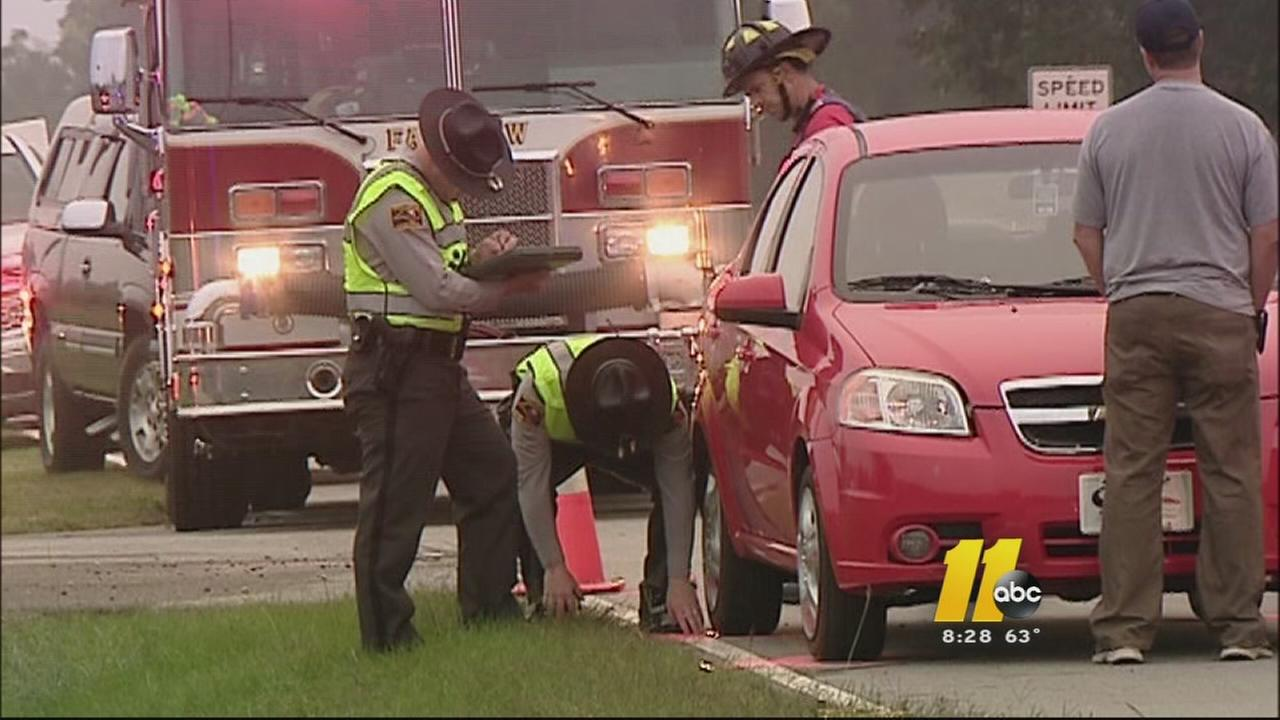 A 12-year-old child was hit by a car