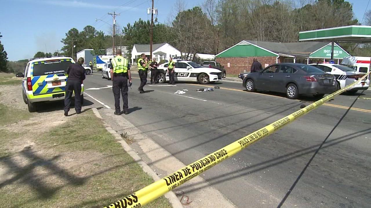 Pedestrian injured in Durham