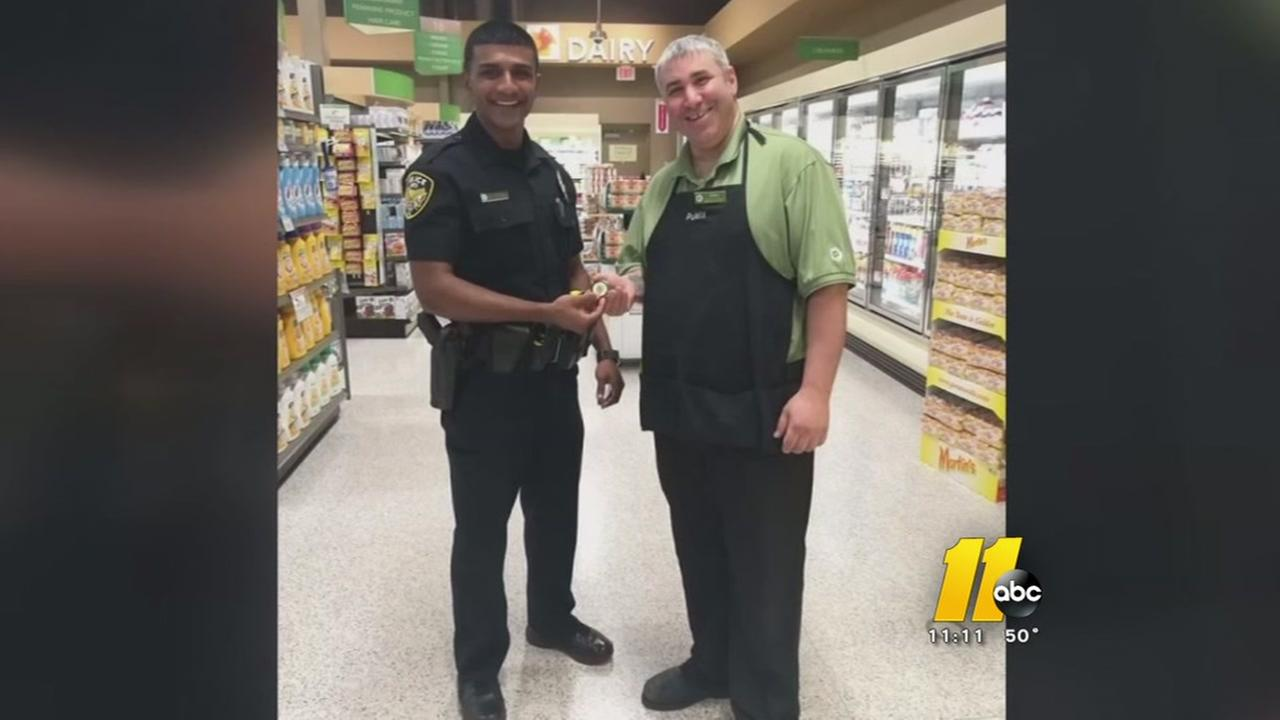 Apex Publix employee turns in found money