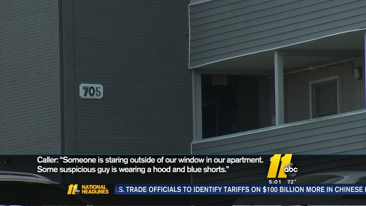 Rash of peeping tom cases in Raleigh