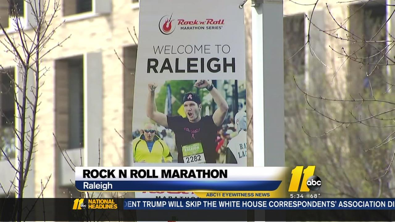 Rock N Roll Marathon this weekend
