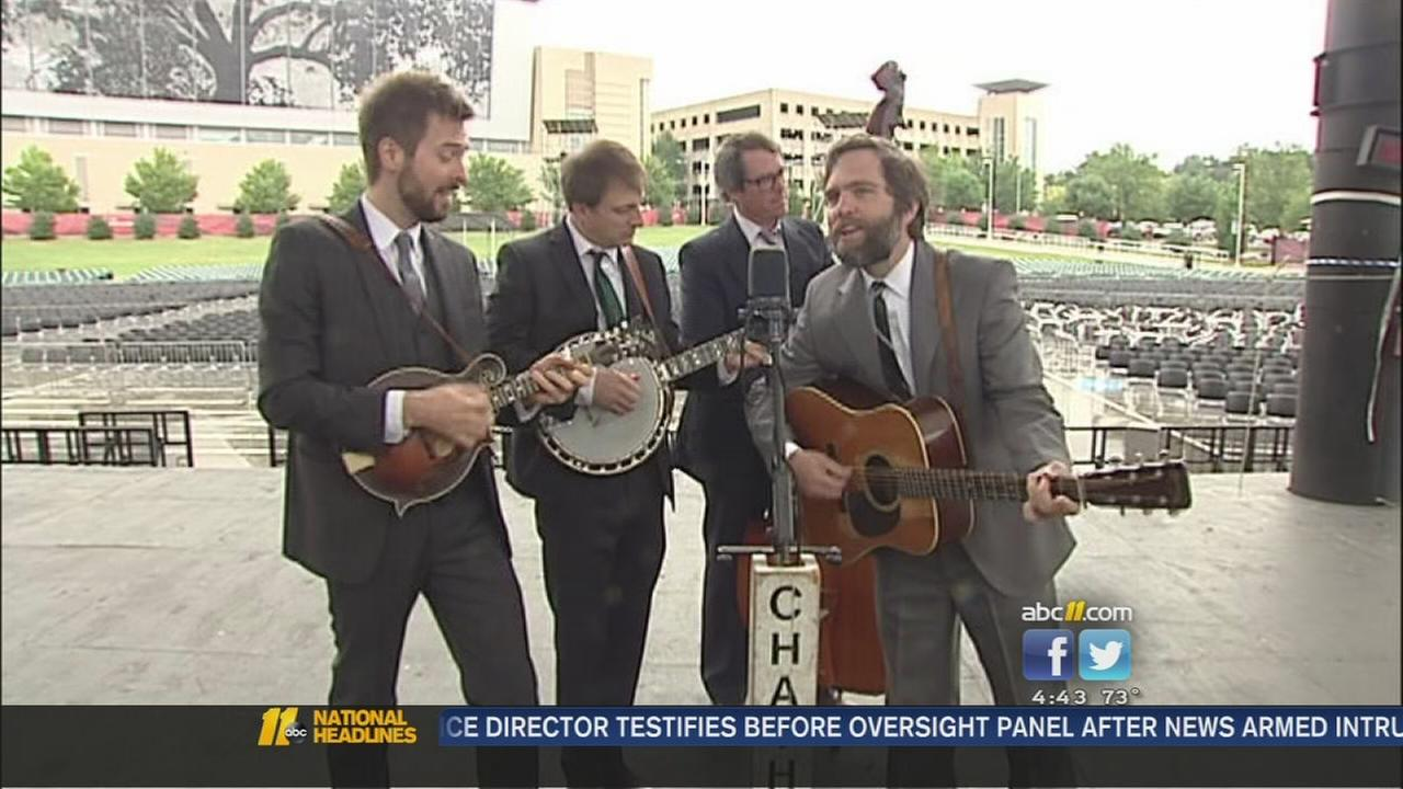 Chatham County Line welcomes bluegrass back to Raleigh with new song