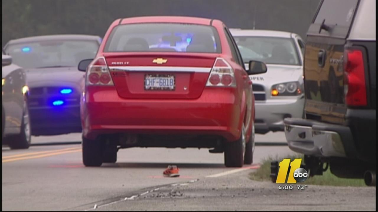 Child hit by car in southern Wake County