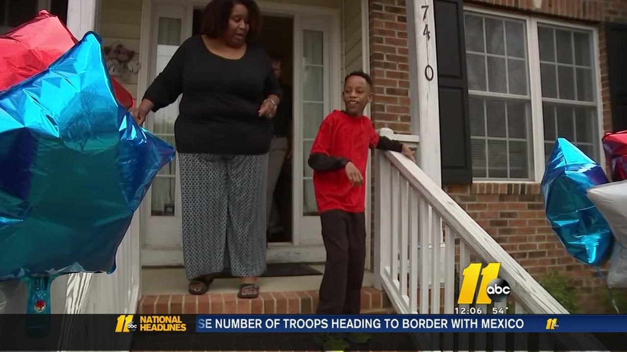 Raleigh mom, special needs son receive much needed helping hand