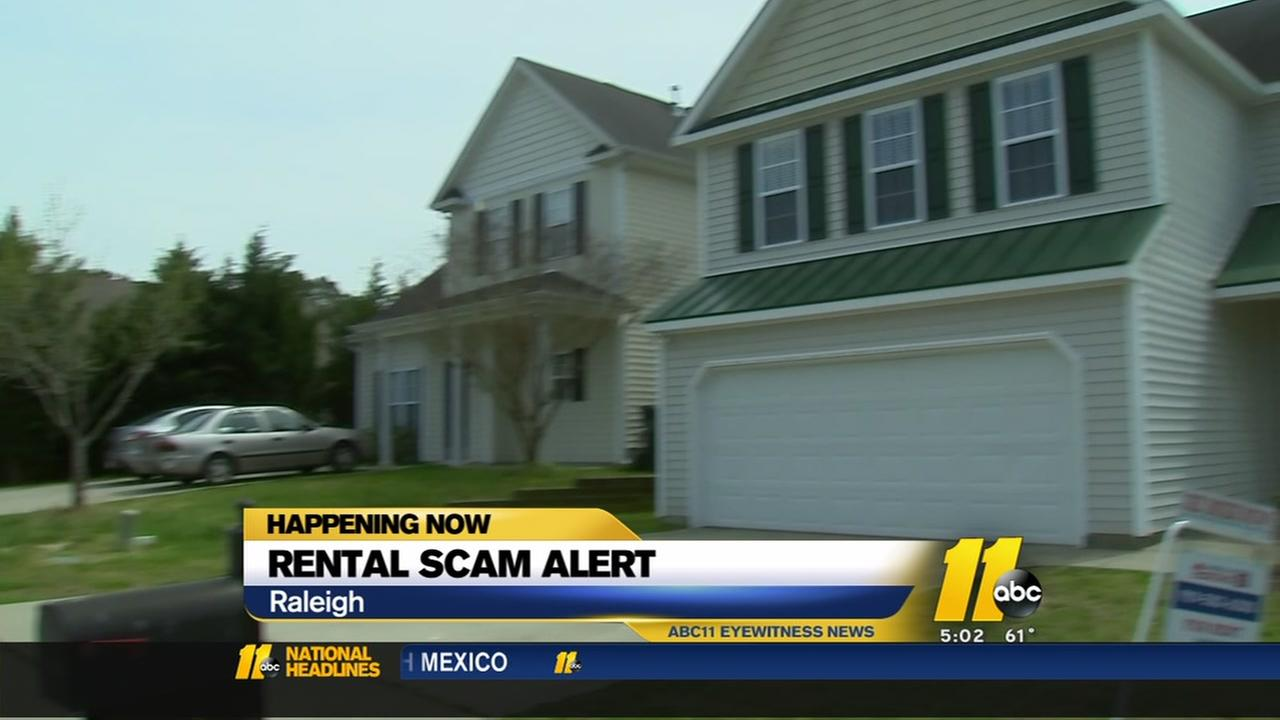 Rental scam alert in Raleigh