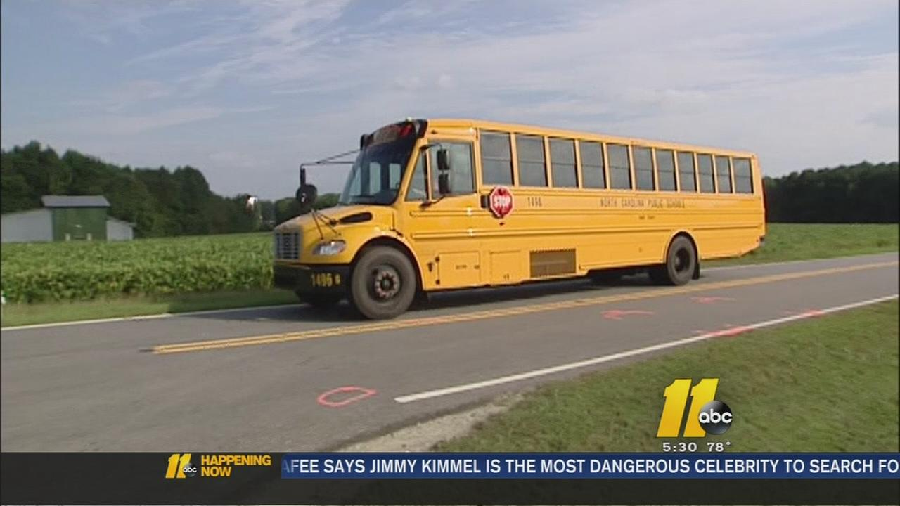 school bus route dangers