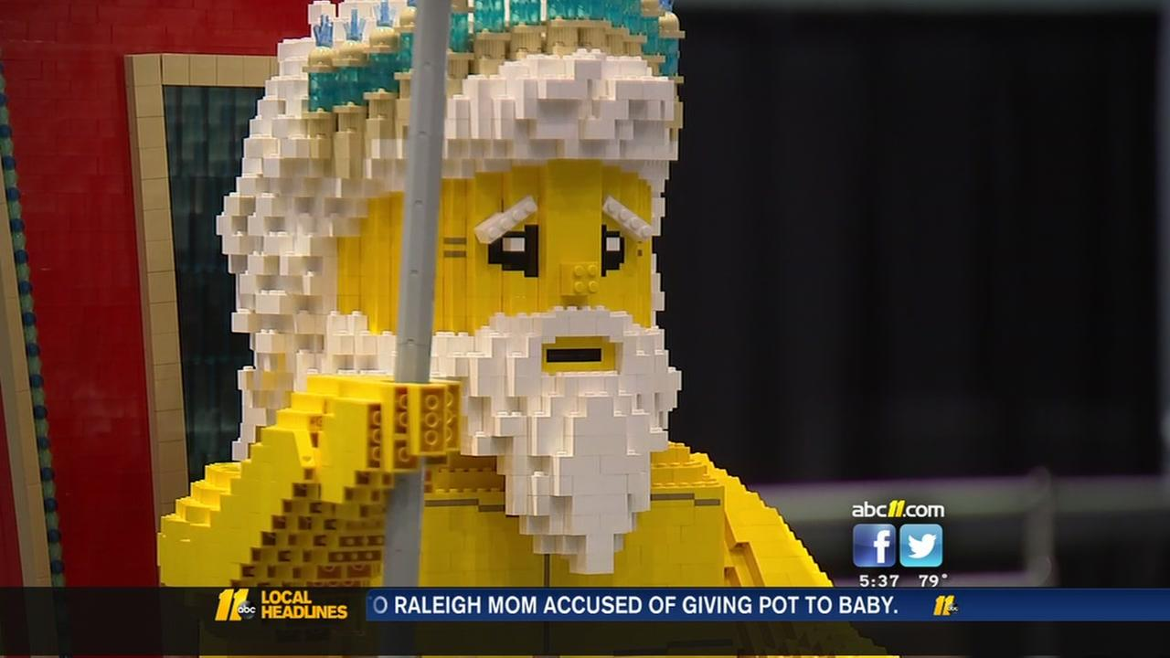 LEGO convention in Raleigh