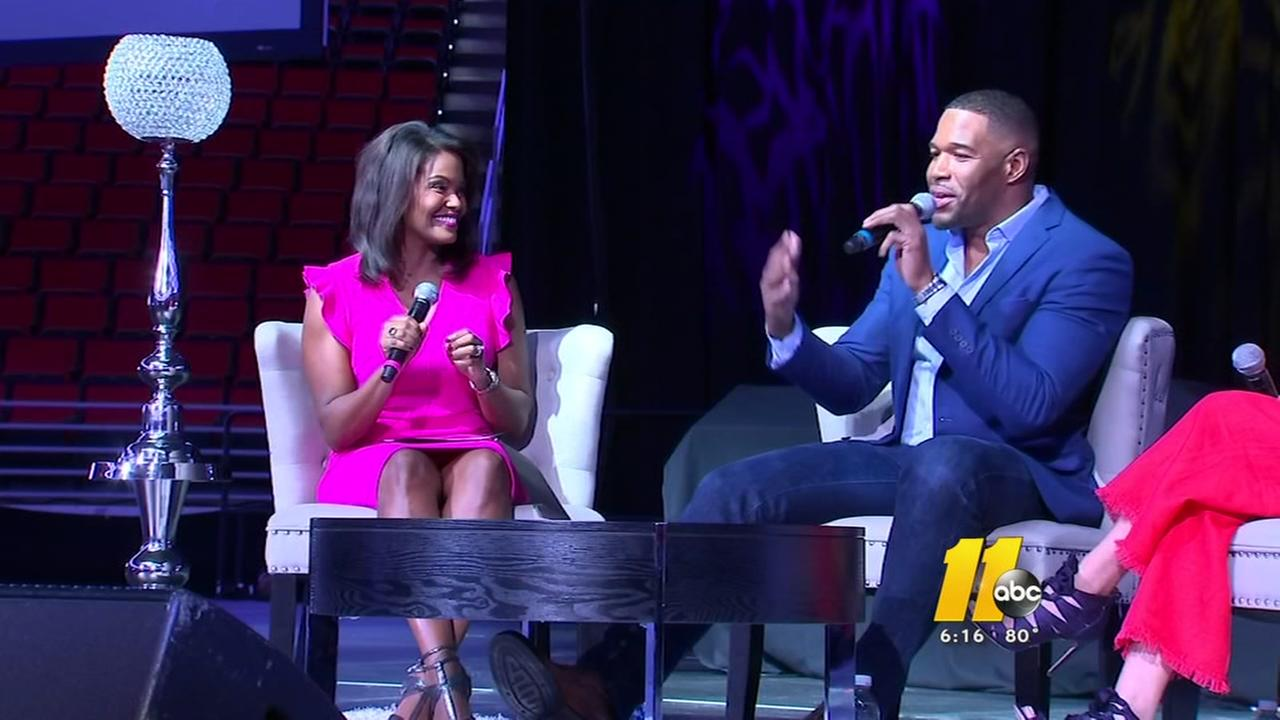 Michael Strahan special guest at Womens Empowerment at PNC