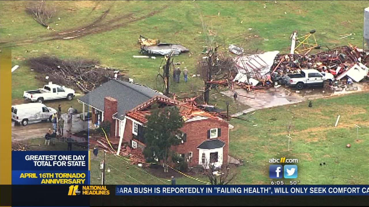 Anniversary of April 16, 2011 tornadoes