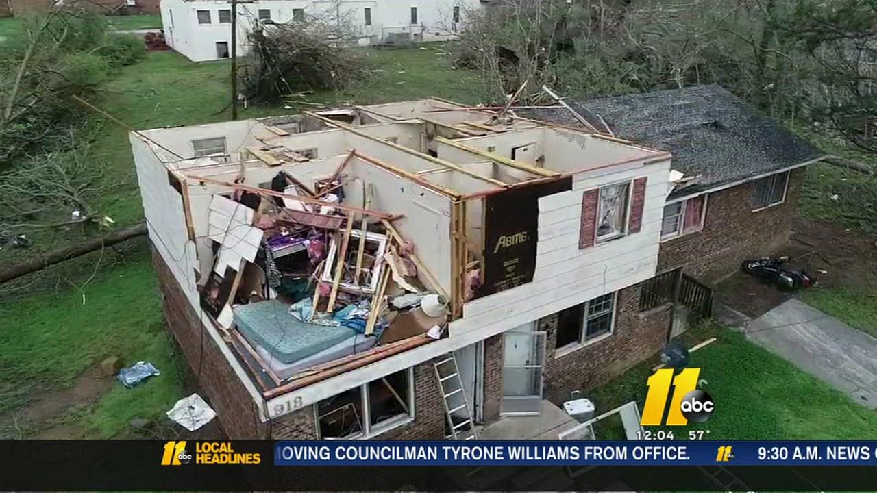 PHOTOS U0026 VIDEO: Significant Damage Reported Around Greensboro After Tornado  Hits | Abc11.com