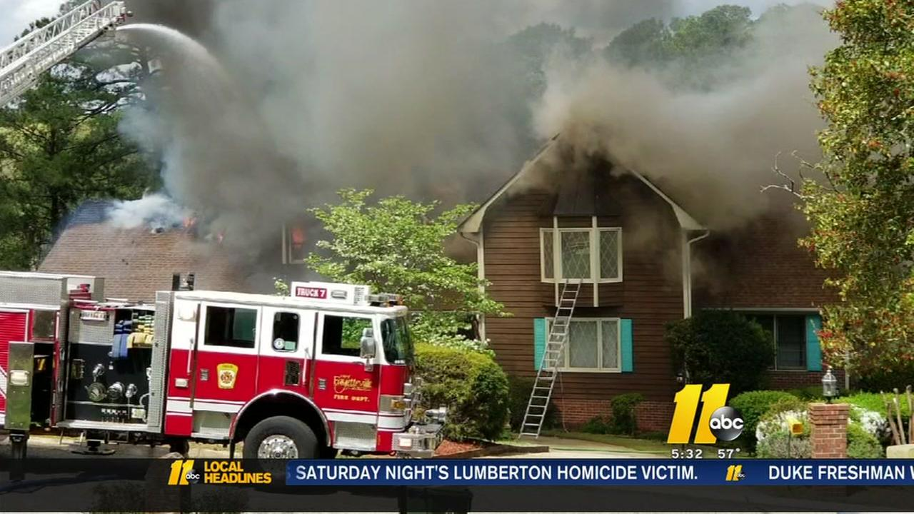 Fayetteville family loses home in fire