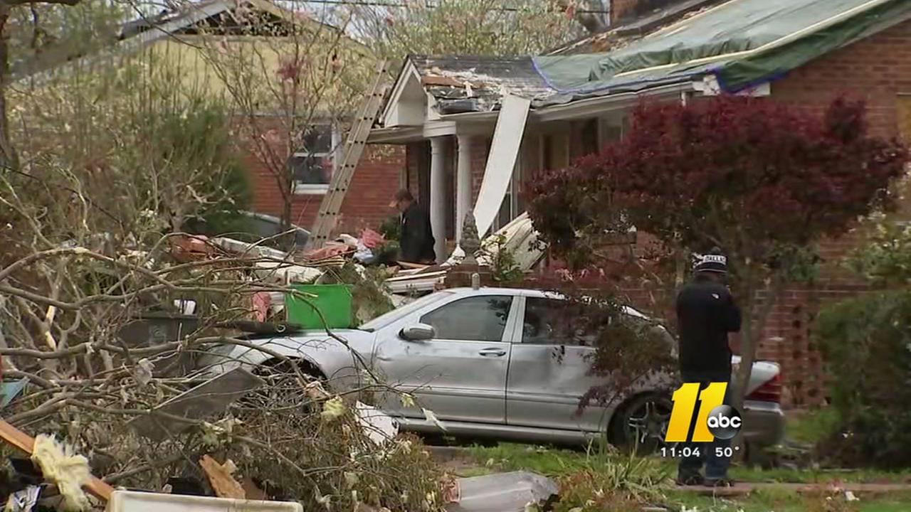 EF2 tornado roars through Greensboro