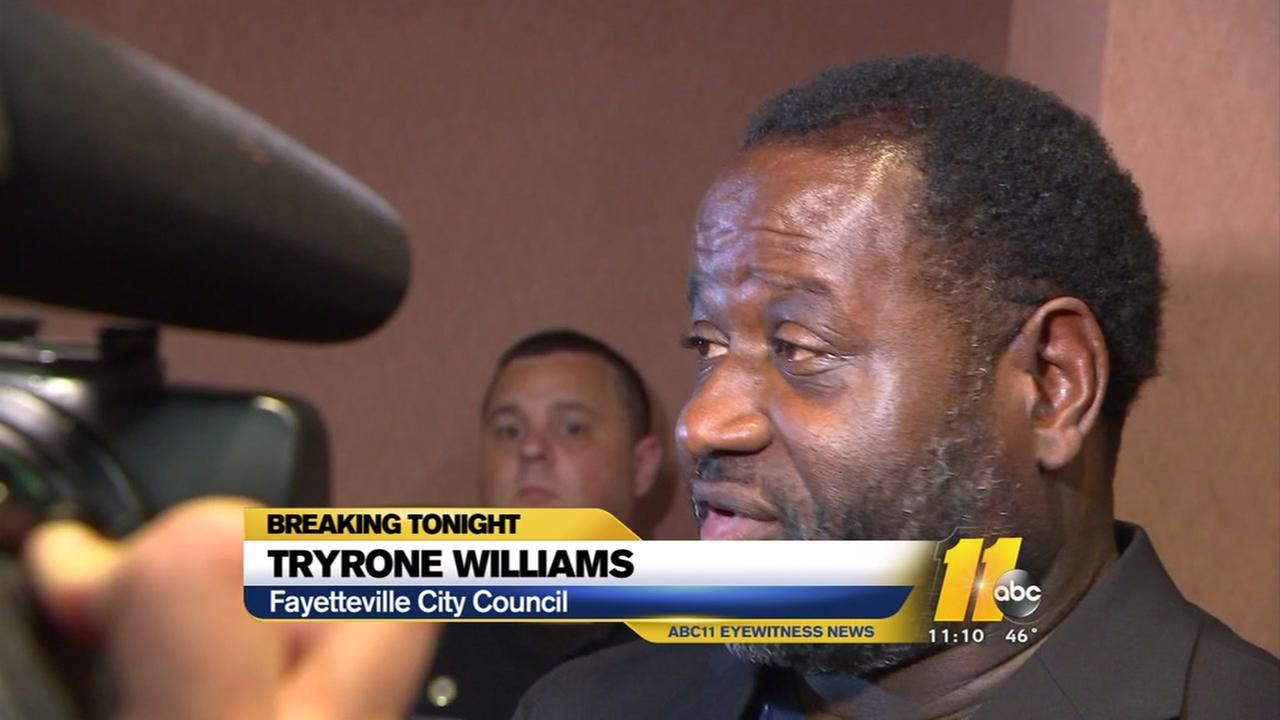 Tyrone Williams says he did nothing wrong
