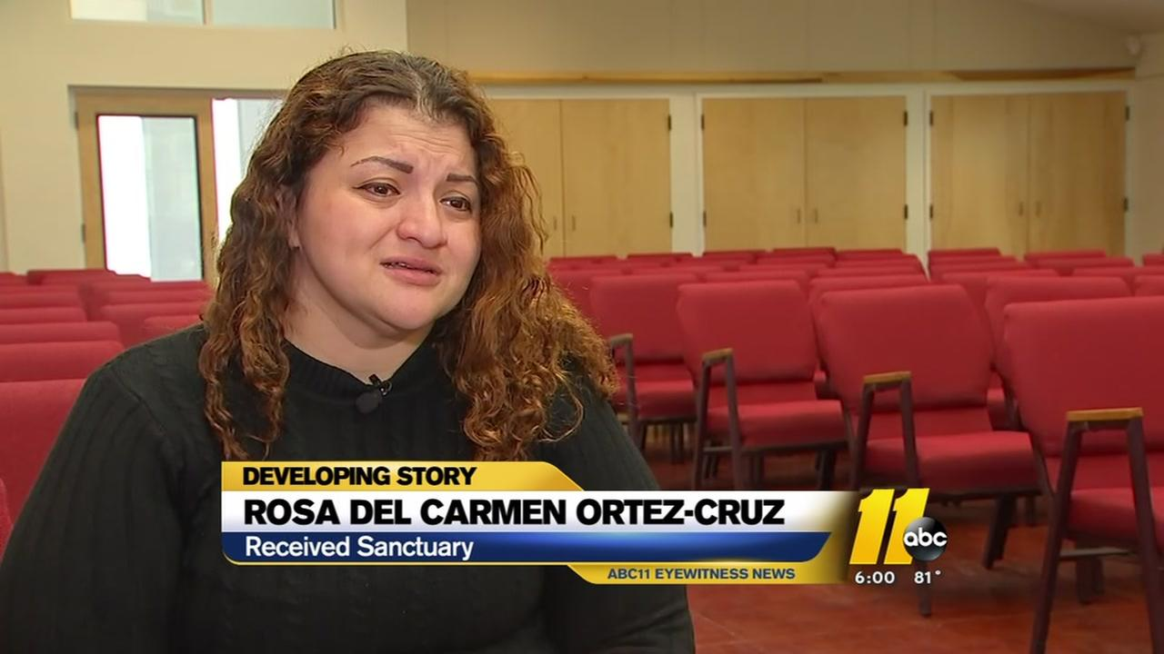 Honduran woman seeks refuge in Chapel Hill church