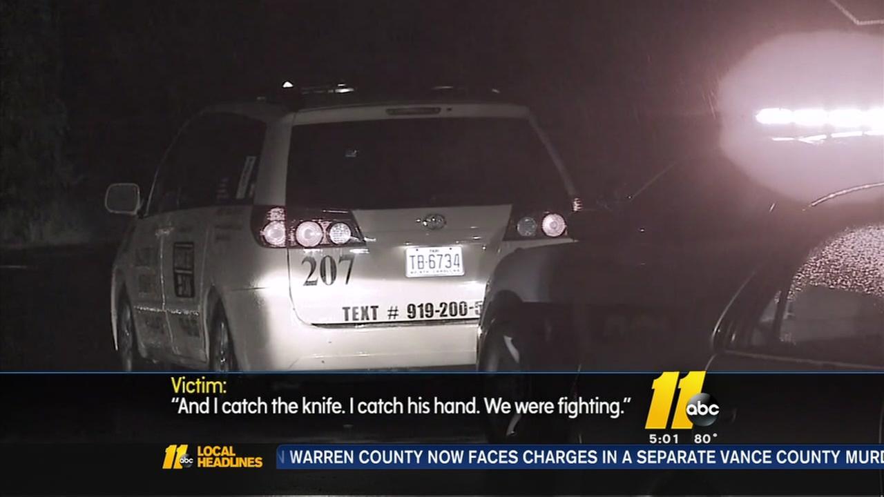 Taxi driver recalls violent attack