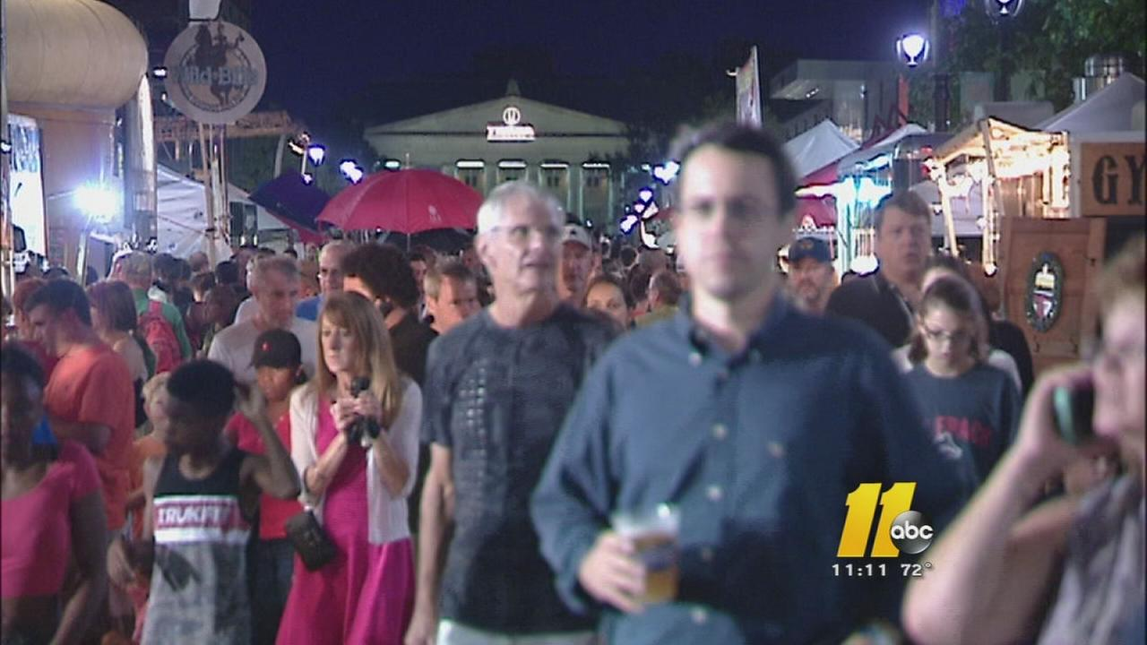 Bluegrass Festival draws huge crowds to downtown Raleigh