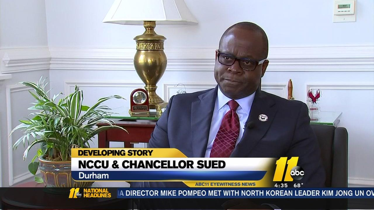 Lawsuit: NCCU chancellor bought $70K SUV with state funds
